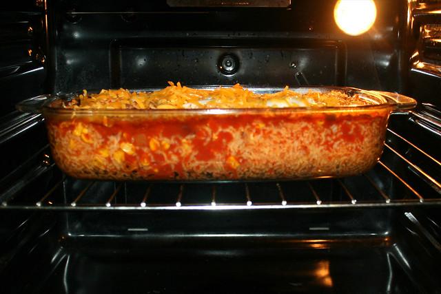 15 - Käse schmelzen lassen / Let cheese melt