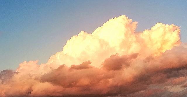 Como nubes de algodon.