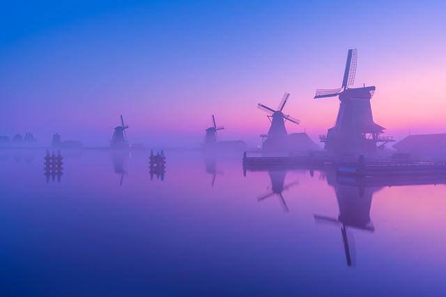 Pastel Windmills