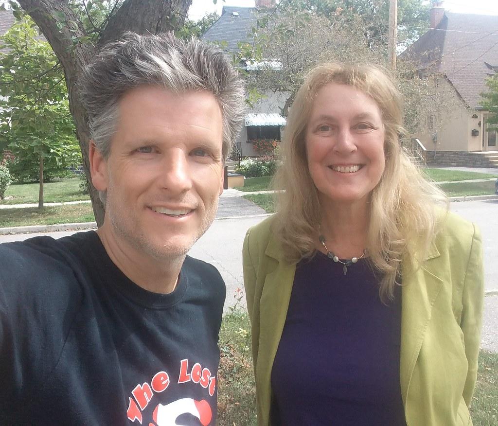 Ellen Roseman and me