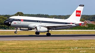 British Airways Airbus A319-1 G-EUPJ