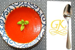 "END OF SUMMER CELEBRATION – ""CREAMY TOMATO & BELL PEPPER SOUP"""