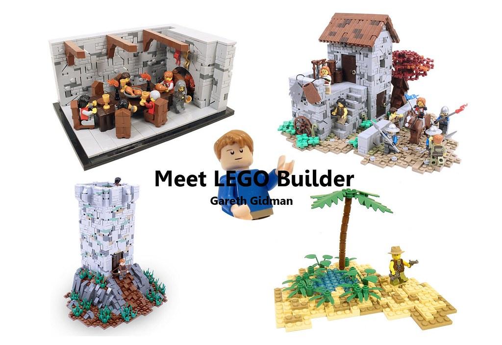 Meet LEGO Builder Gareth Gidman