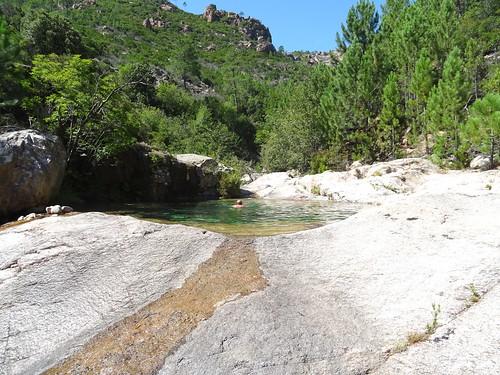 Spuntinu aux vasques Carciara /Peralzone : la grande vasque circulaire