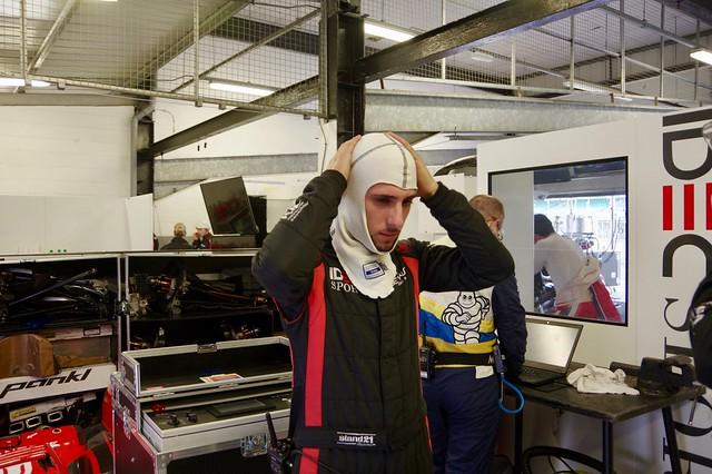 Paul Loup Chatin Driver of IDEC Motors Sport's Oreca 07 Nissan