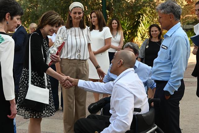 Secretary of Veterans Affairs visit to Israel September 2019