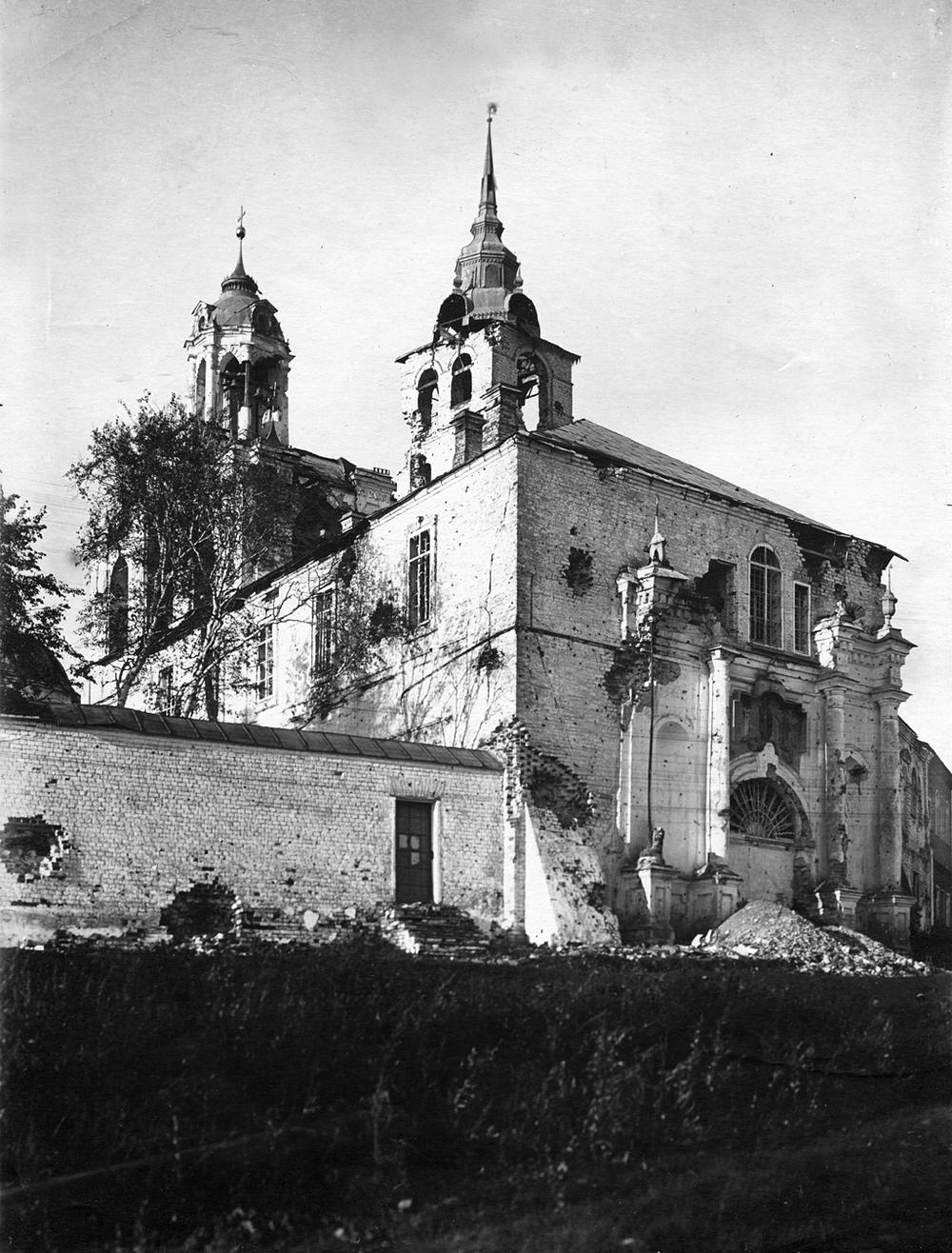 20. Стены монастыря после подавления осстания