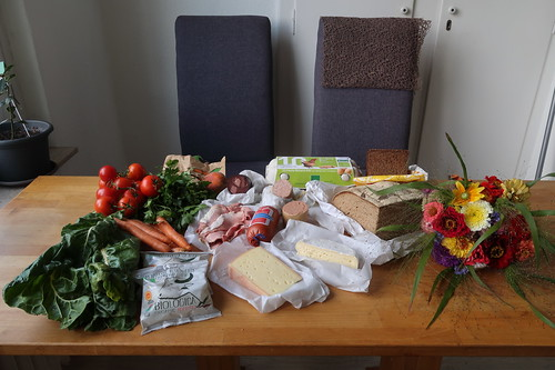 Auf dem Osnabrücker Samstagsmarkt Erworbenes