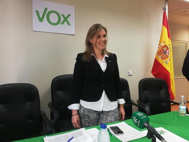 Cristina Peláez - VOX Sevilla