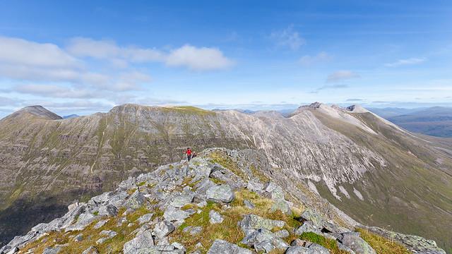 Beinn Eighe from Liathach's East Top
