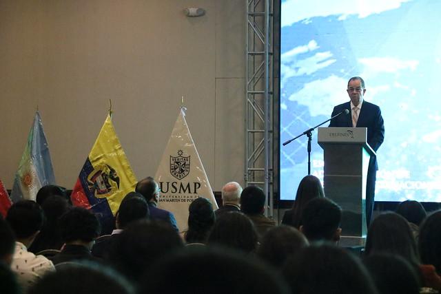 """Facultad de Ciencias Administrativas y Recursos Humanos de la USMP, desarrolló SUMMIT 2019 """"Sostenibilidad como factor clave para la Internacionalización"""""""