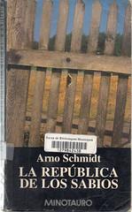Arno Schmidt, La república de los sabios