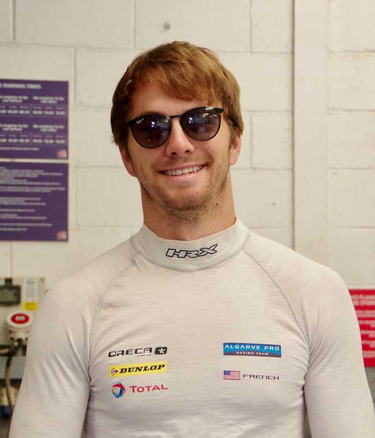 James French Driver of Algarve Racing's Oreca 07 Gibson