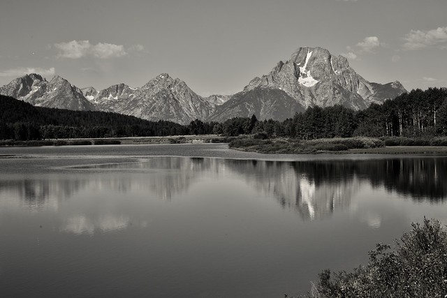 Oxbow bend, Gran Tetón National Park. Wyoming