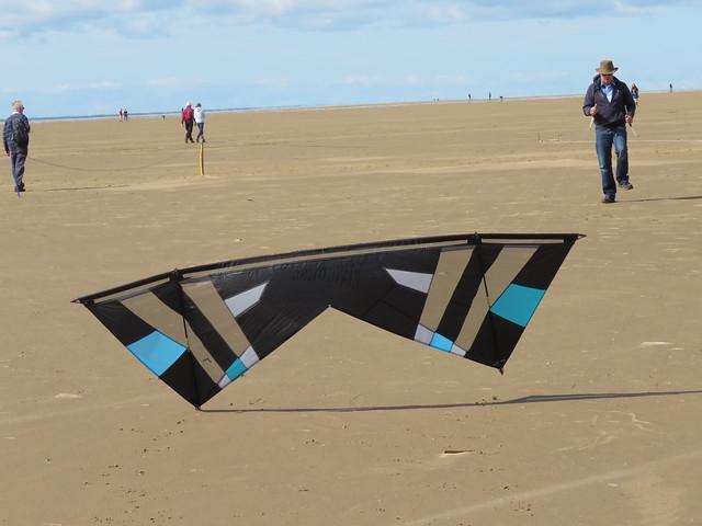 Walking the kite