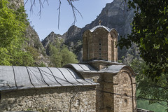 Saint Andrew church in Matka gorge