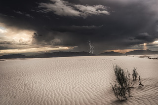 Stormy Evening at the Dunes
