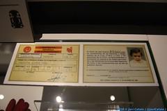 Licencia de la Federación Española de Automovilismo a un Fernando Alonso de tres años