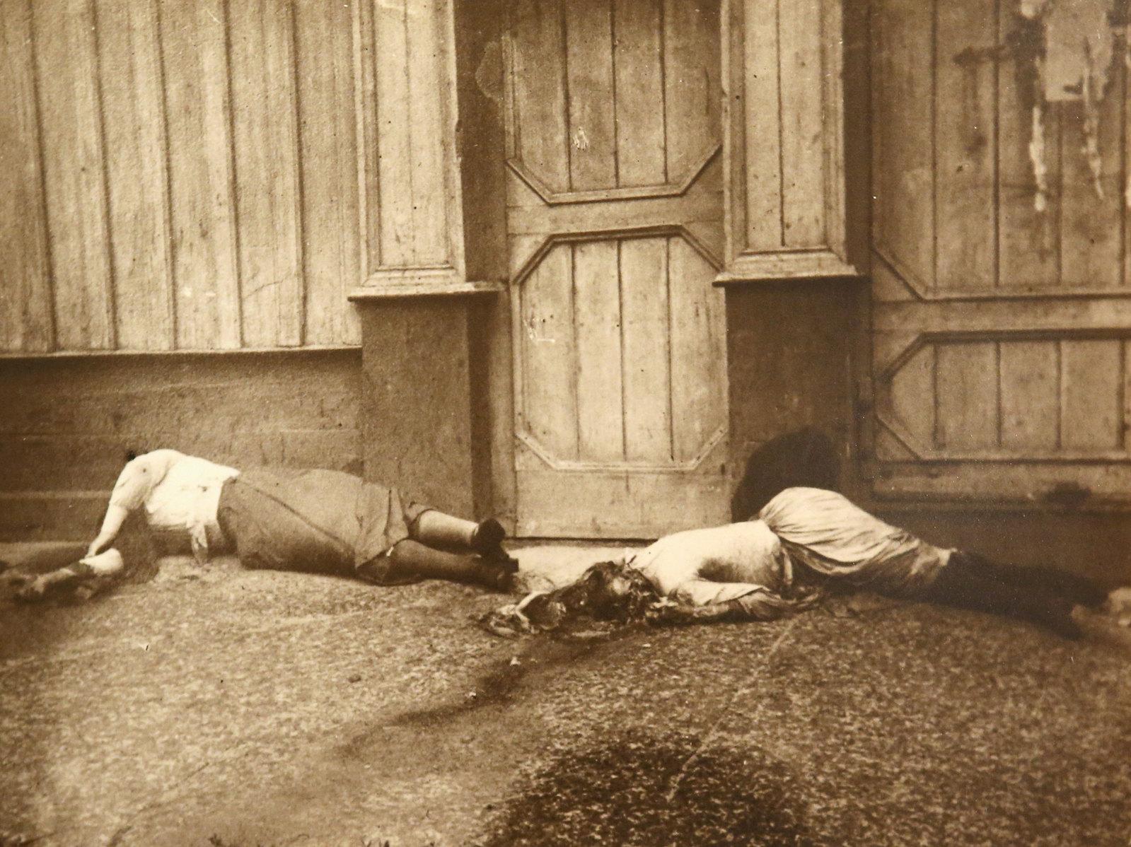 30. Женщины, погибшие на Любимской улице. Июль 1918