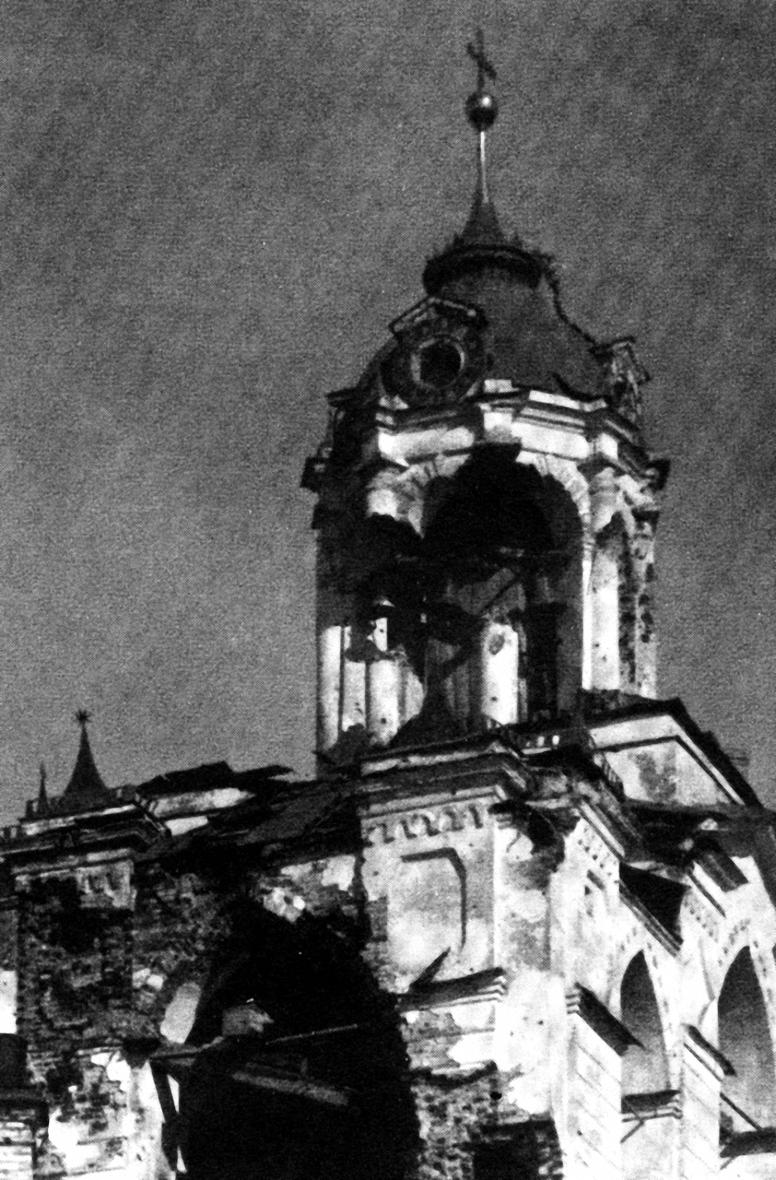 25. Звонница Спасо-Преображенского монастыря