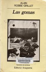 Alain Robbe-Grillet, Las gomas