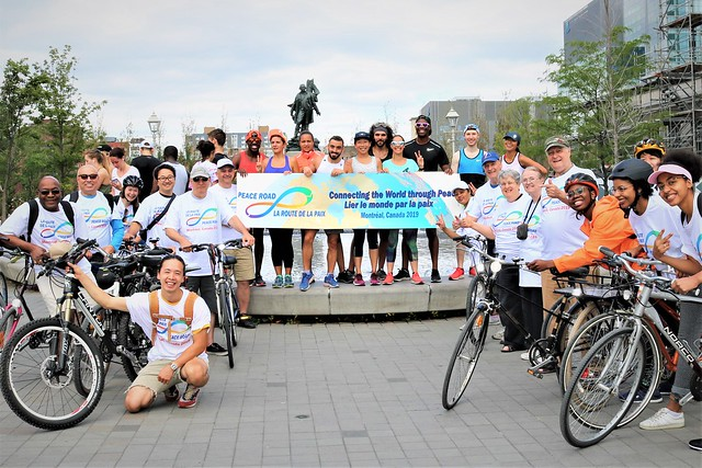 Canada-2019-08-24-Montreal, Canada, Sees Its First Peace Road Rally