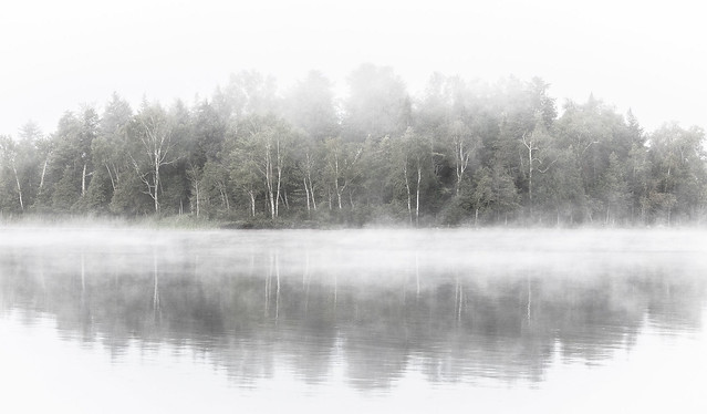 Fog, Tremblant Lake