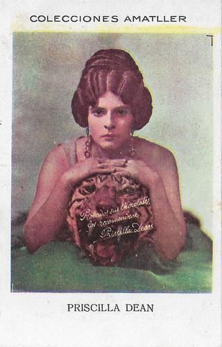 Colecciones Amatller, Priscilla Dean