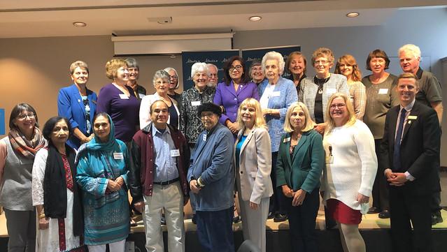 Celebrating volunteers helping seniors