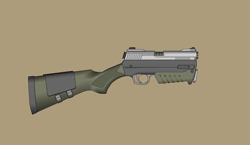 Hunter's Machine Pistol