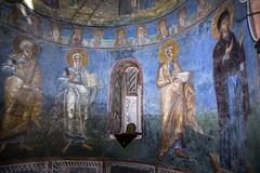 Frescoes of the north exedra