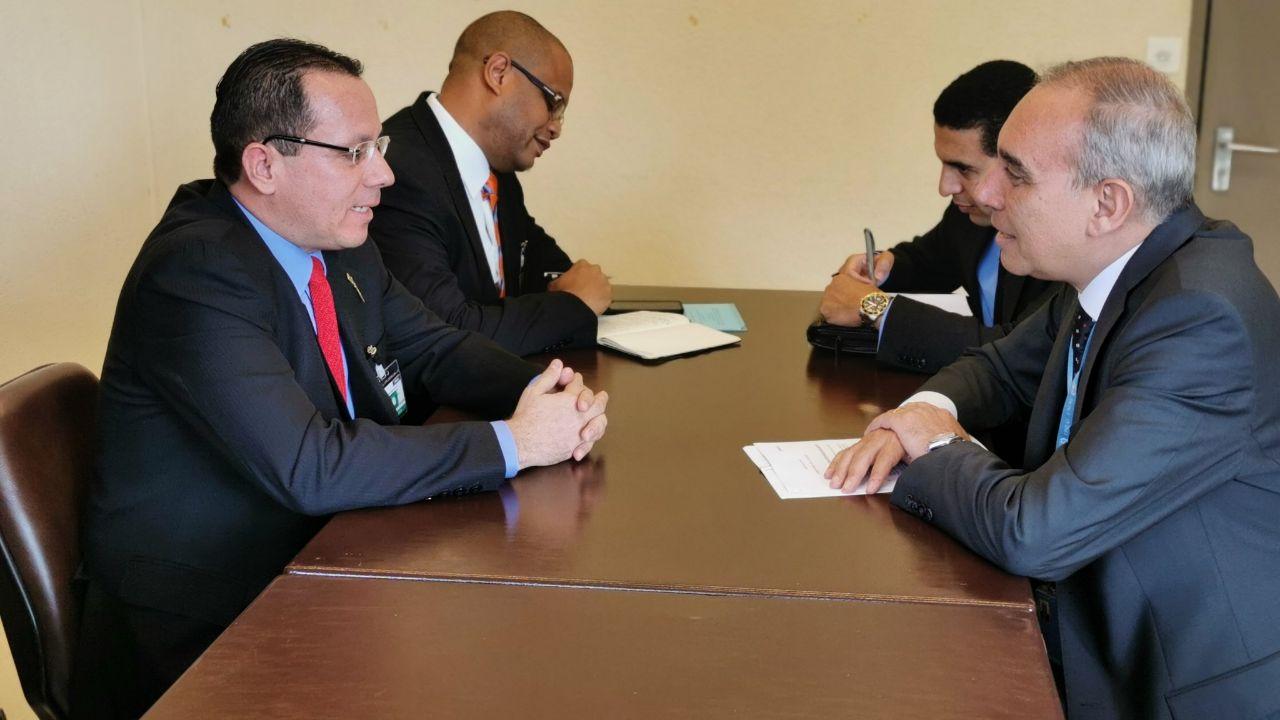 Venezuela celebra encuentros bilaterales en Ginebra con Angola y Egipto