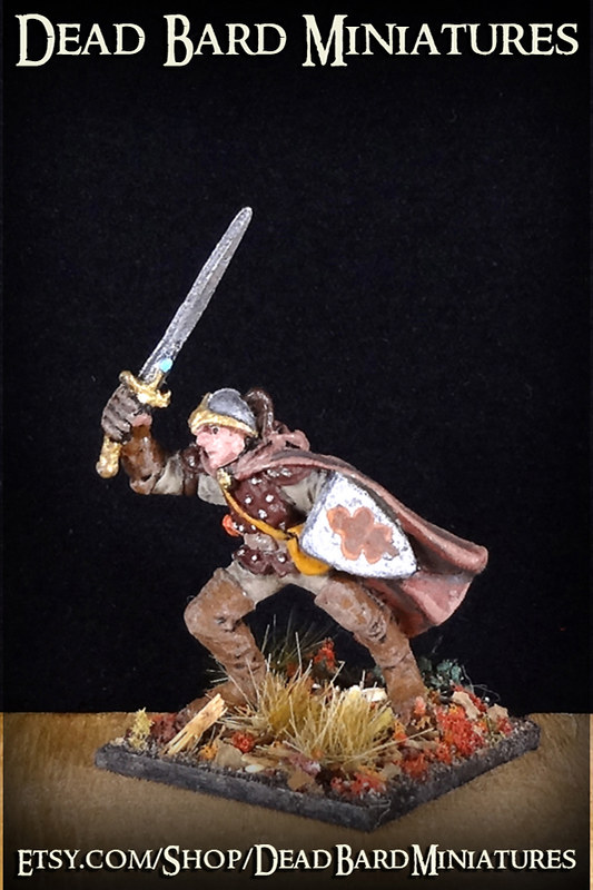 Human Rogue  Fighter Painted Miniature