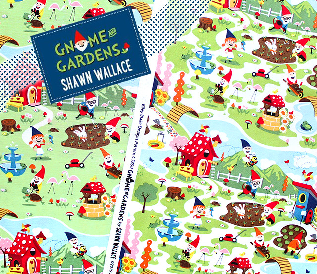 Riley Blake Gnome and Gardens by Shawn Wallace