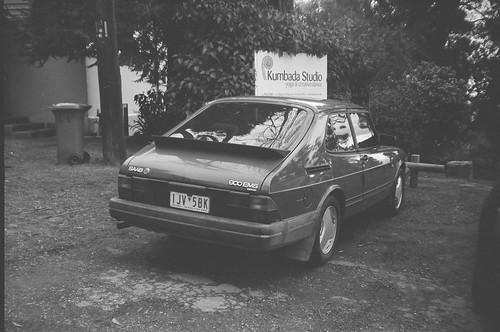 1990 Saab 900 EMS rear