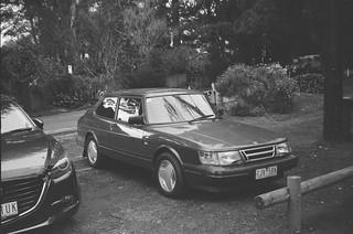 1990 Saab 900 EMS front