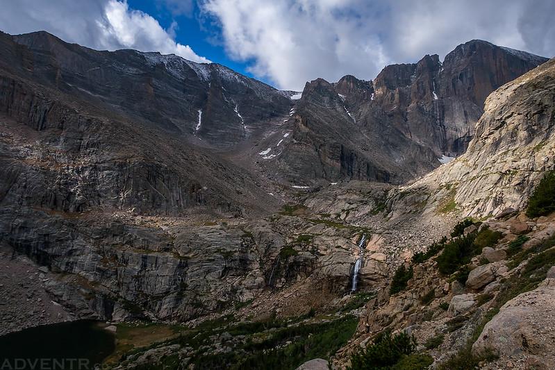 Chasm Lake Trail View