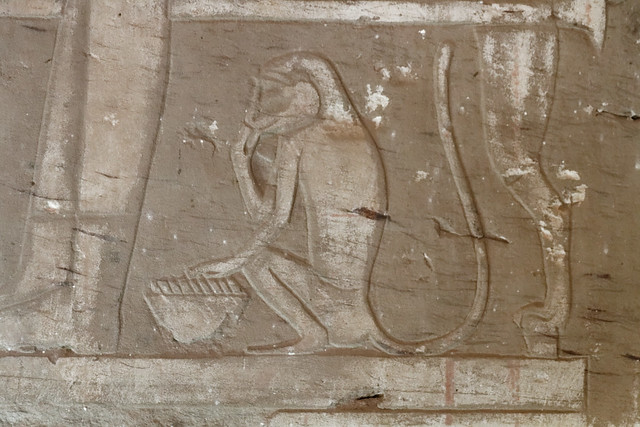 Relief of a Monkey