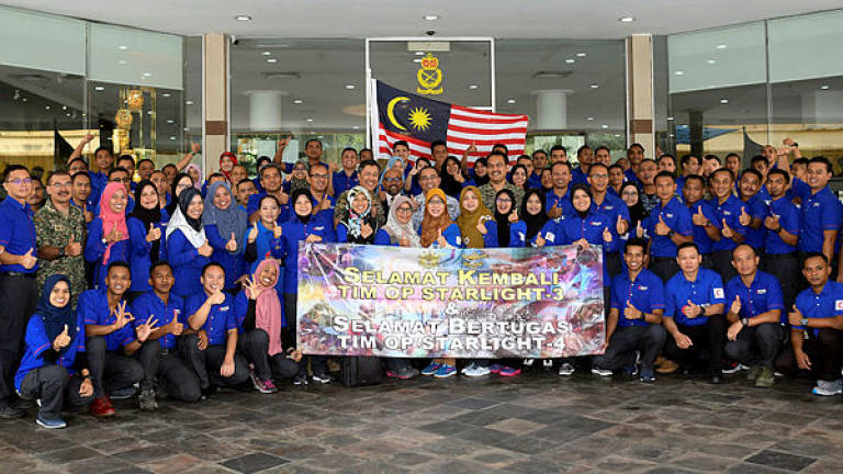 Malaysian field hospital carries out 2,300 surgeries