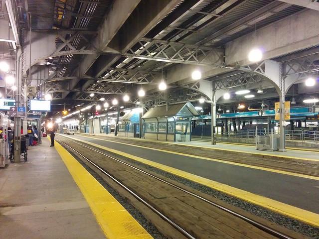 Back at Union Station (3) #toronto #unionstation #rail #viarail #platform
