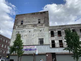 WAREHOUSE OUTLET Ghost Sign