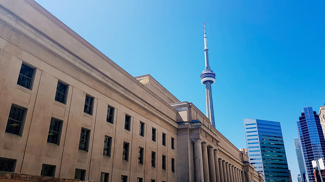 CN Tower & Union Station