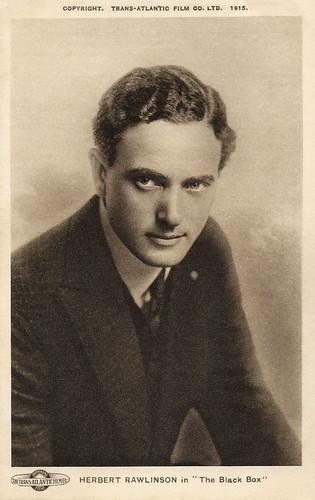 Herbert Rawlinson in The Black Box (1915)