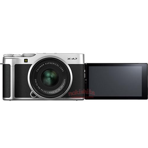 Fujifilm X-A7 Body and LCD