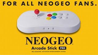 收錄 20 款人氣格鬥遊戲  SNK「NEOGEO Arcade Stick Pro」大型搖桿發售決定!