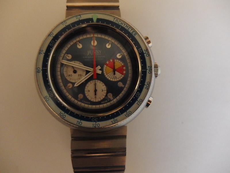 Ma dernière acquisition  peu commune, la jenny carribean 2000 chrono de 1970 48709967677_c87902316f_c