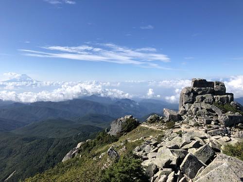 金峰山からの眺望