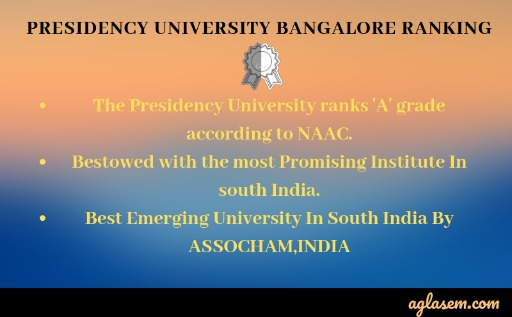 Presidency University Bangalore Admission 2020 - Application Form (Available)