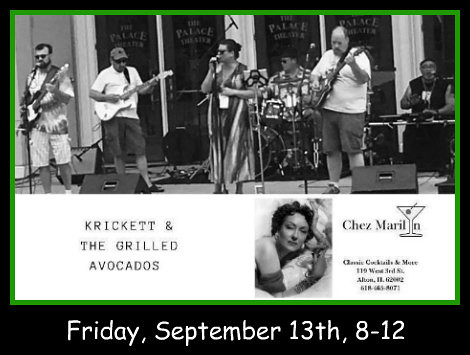 Krickett & The Grilled Avocados 9-13-19