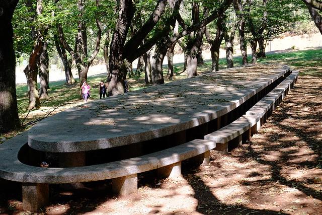 mesa de pedra no souto de García Sánchez